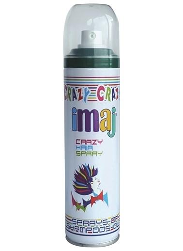 İmaj Crazy Saç Spray Yeşil 100Ml Yeşil